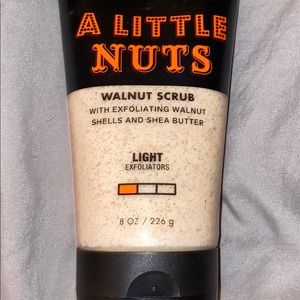 New A Little Nuts Bath and Body Works Exfoliant